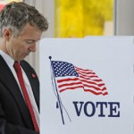 Rand Paul - KY GOP U.S. Senate Candidate Voting