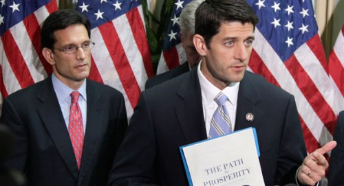 Rep. Paul Ryan and Rep. Eric Cantor