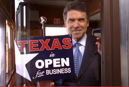 Texas Gov. Rick Perry Unveils New Flat Tax Plan to Spur Economic Growth